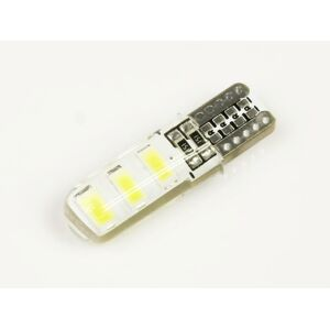 Interlook LED auto žárovka LED W5W T10 6 SMD 5630 silikon